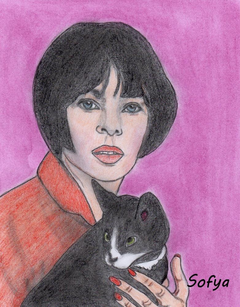 Leslie Caron by Sofya